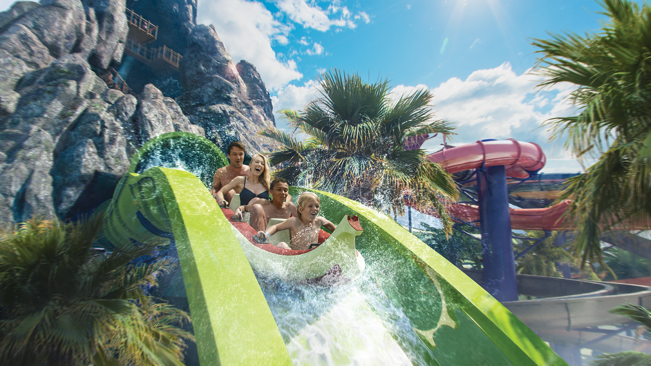Universal's Volcano Bay Erupts with Fun for All Ages