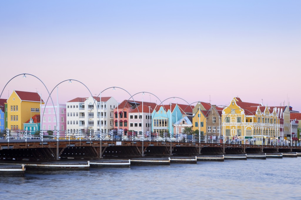 Willemstad's colorful harbor has caught the eye of many wanderers.