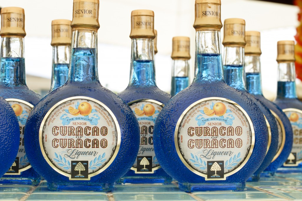 Curacao Blue Liqueur