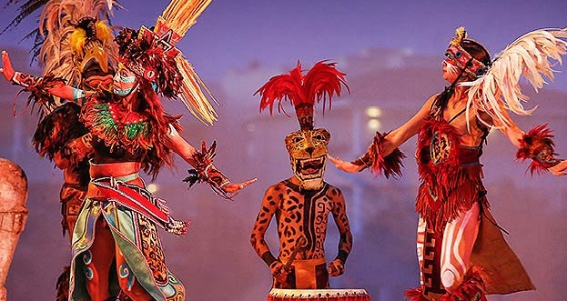 You'll be mesmerized by the Mayan Show at Moon Palace Cancun.