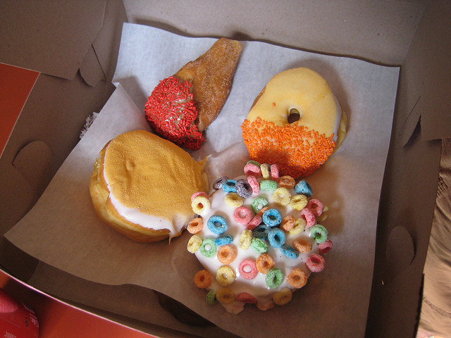 Yes, Voodoo Doughnuts taste just as good as they look.