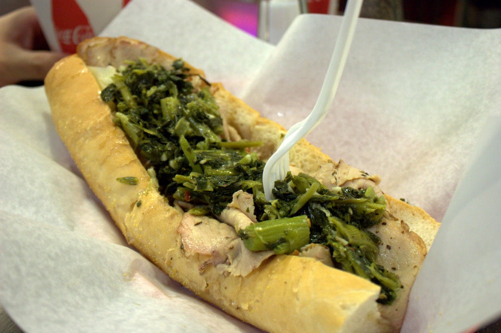 Is your mouth watering yet? We know ours are by just looking at this DiNic's Roast Pork sandwich.