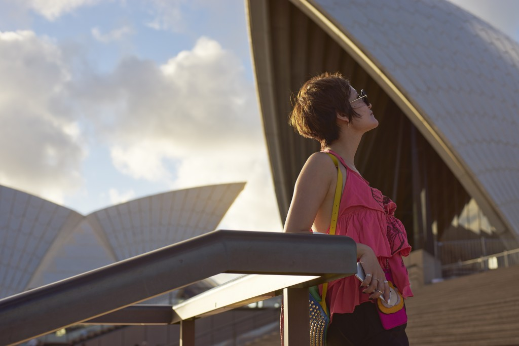 Marvel at Sydney's iconic sites, like the famous Opera House.