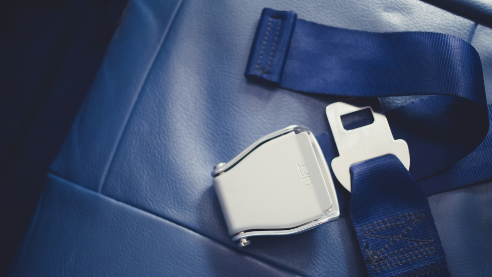 airplane seat belt