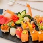 sushi from Valentin Imperial Riviera Maya
