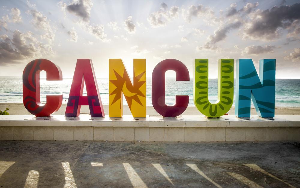Cancun Sign