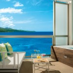 Junior Suite Ocean View Terrace at Breathless Montego Bay