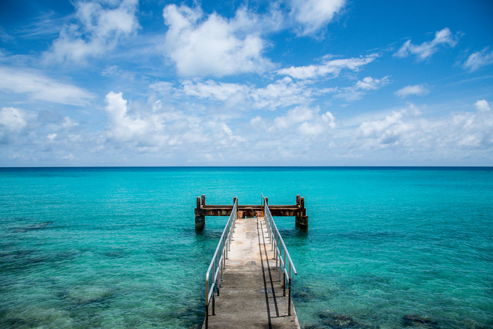 Beautiful Bermuda Dock