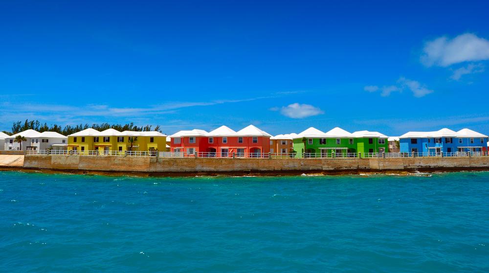 Bermuda Pastel Houses